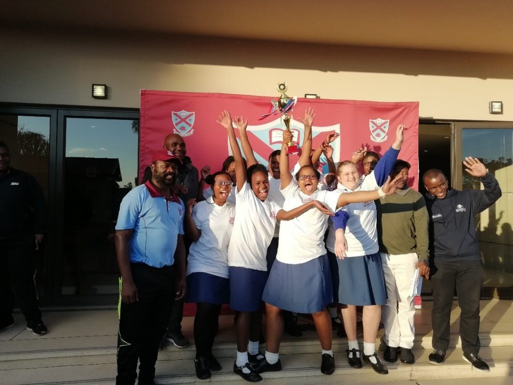 Chess Team wins first Tournament.