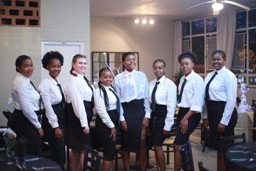 Grade  12 hospitality learners