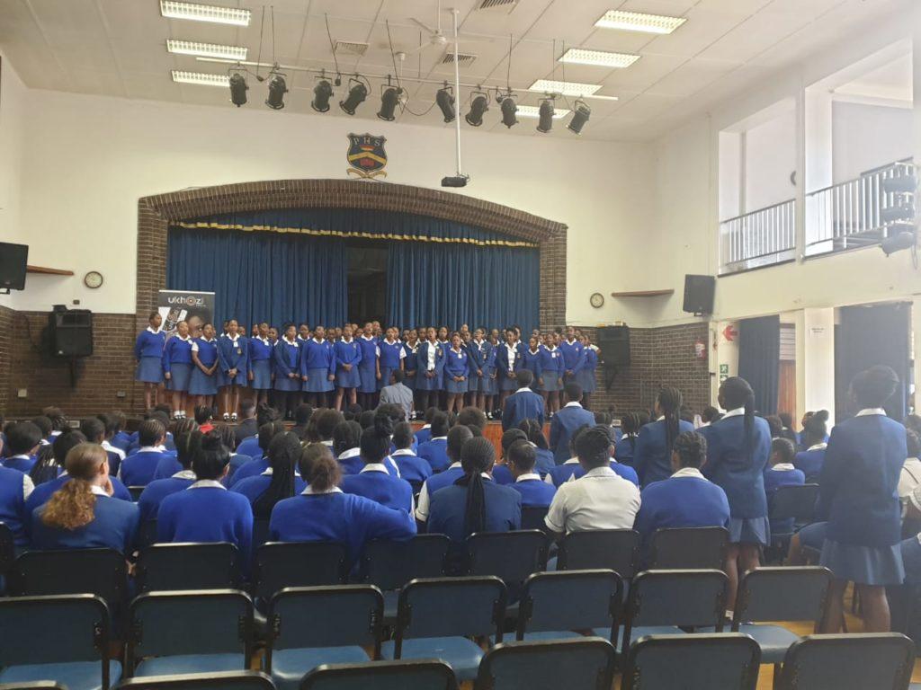 Pinetown Girls` Assembly Choir 2020.