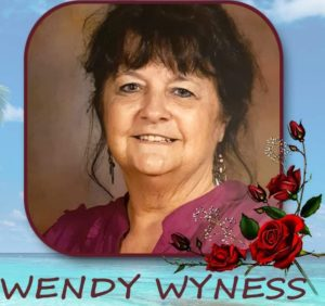 Rest in Peace Mrs. Wendy Wyness.       (8 December 1952 – 4 March 2021)